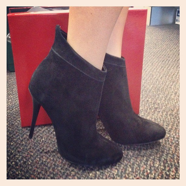 Ali picked up some Siren boots on Style Tread to get her through Winter in... well, style.