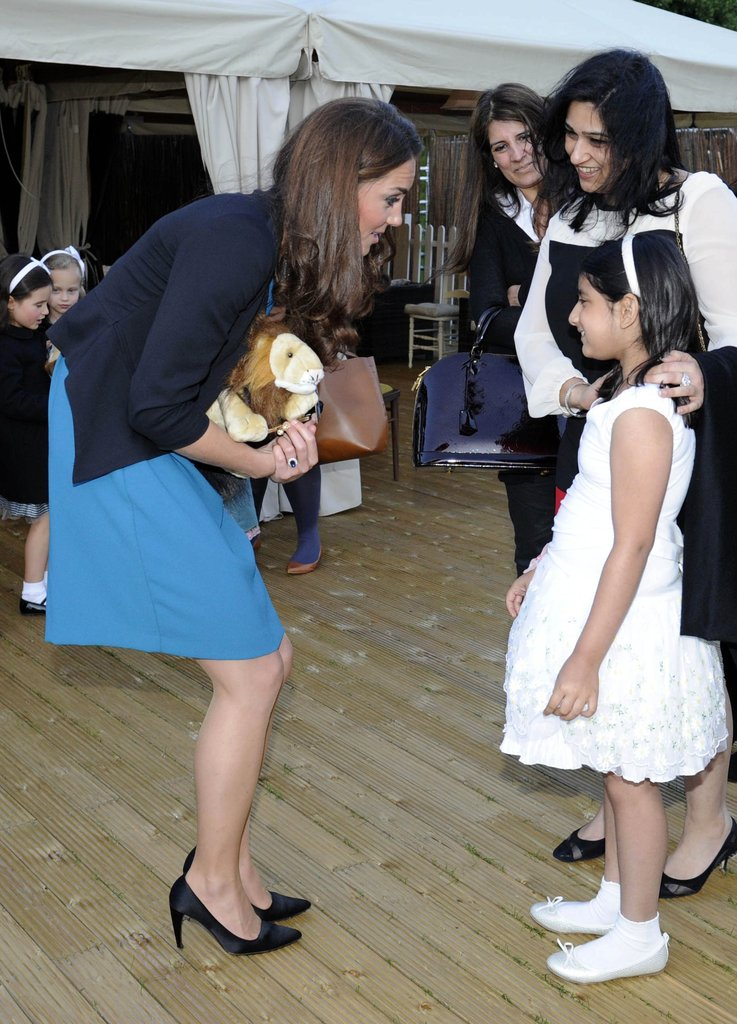 Kate Middleton attended a special children's performance in Kensington Gardens on June 15.