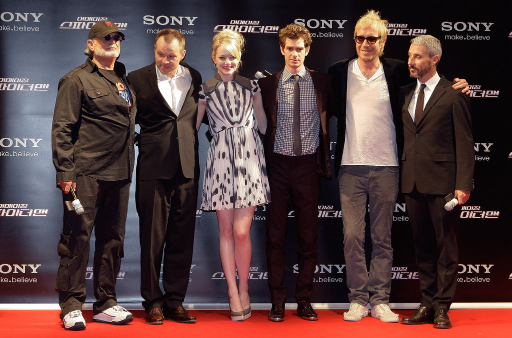 The cast of The Amazing Spider-Man attended the Seoul premiere on June 14.