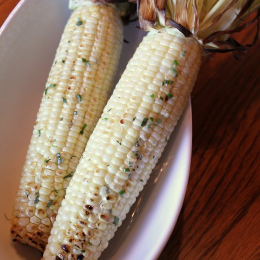 Grilled Corn With Herbed Butter Recipe