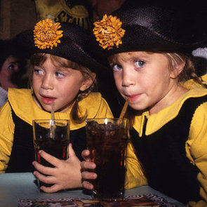 Mary-Kate Olsen and Ashley Olsen Childhood Pictures