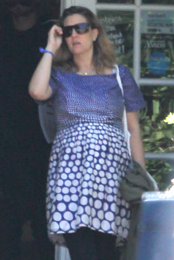 Drew Barrymore was out to lunch in Montecito on her honeymoon with Will Kopelman.