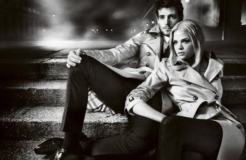 Photographer Mario Testino shot the Burberry Fall '12 campaign at Greenwich's Royal Naval College.