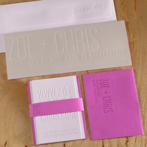 Letterpress Wedding Stationery Trends and Tips