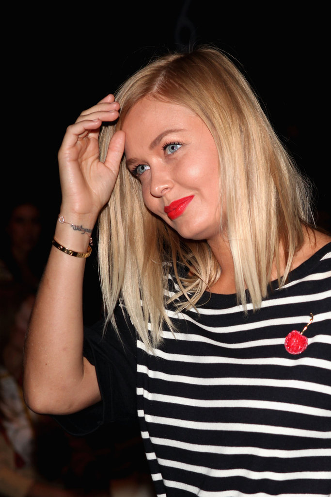 We can't get enough of this fiery red lip! At the 2012 Maticevski MBFWA show.