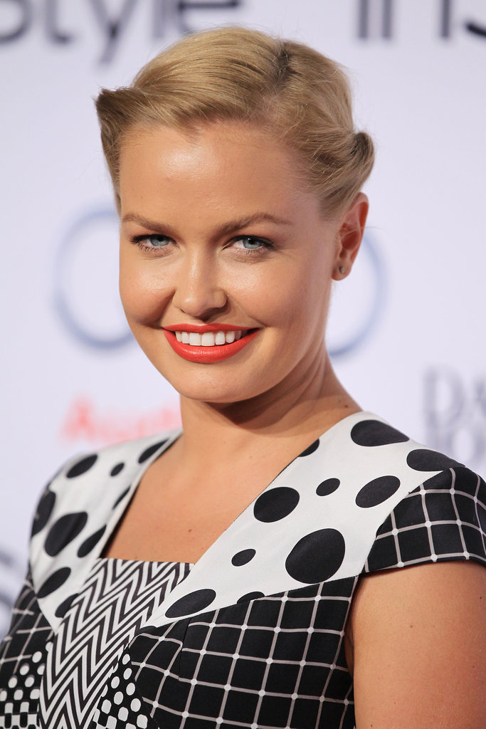 Sweet and slightly Scandinavian! At the 2012 InStyle Women of Style Awards.