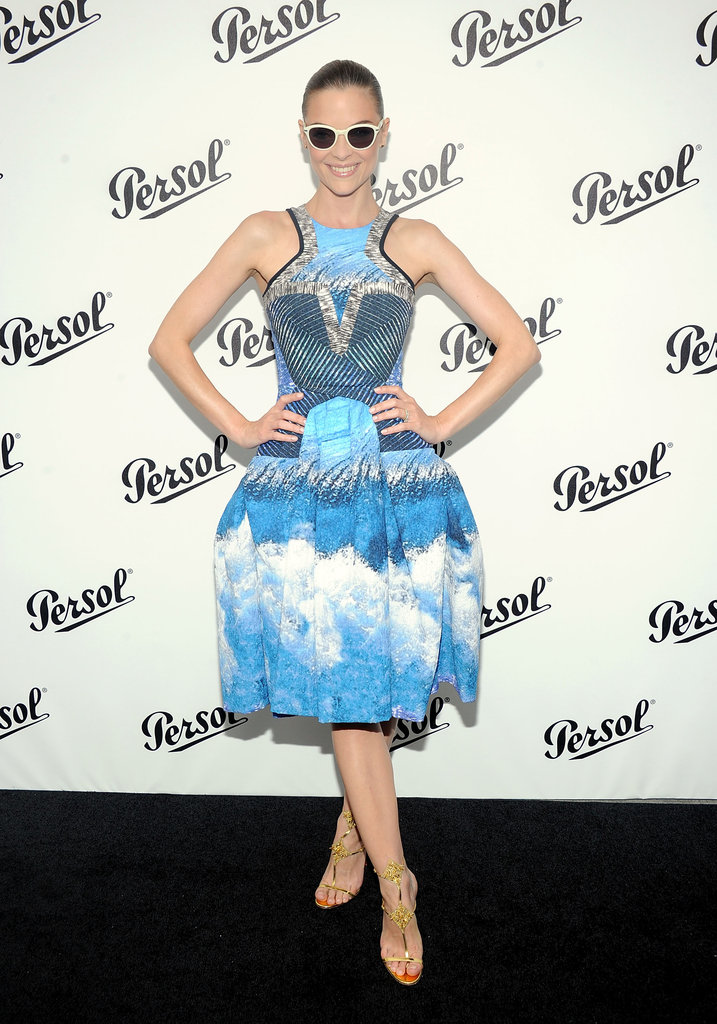 Jaime King rocked a pair of Persols at the Persol Magnificent Obsessions event in NYC.