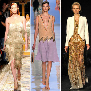 Gold Clothing Spring 2012 Runway Trend