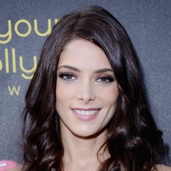 Ashley Greene Purple Eye Makeup Look