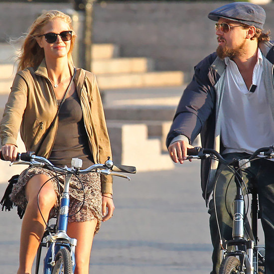 Erin Heatherton Biking Outfit