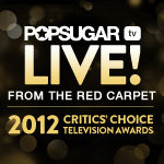 Watch @PopSugar live from the red carpet at the Critics' Choice Television Awards tonight!