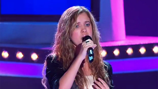 Rachael Leahcar's Blind Audition