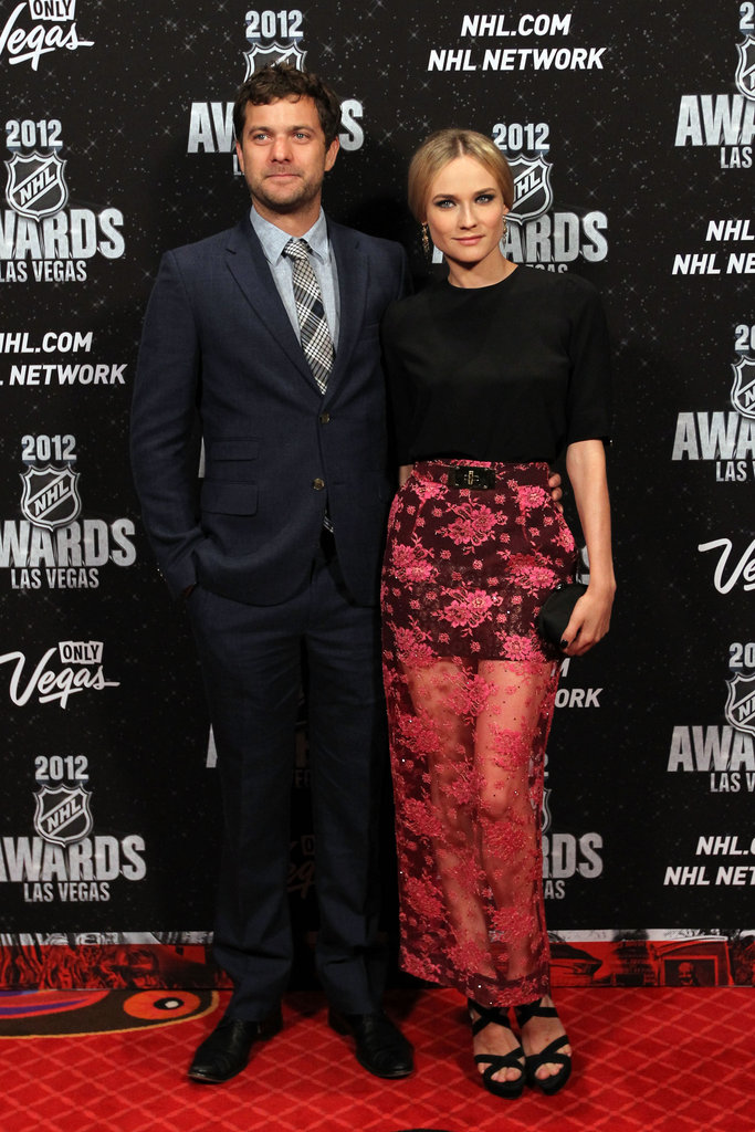 Cute couple Joshua Jackson and Diane Kruger went to the NHL Awards in LA on June 20.