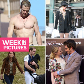 The Week in Pictures: Chris Hemsworth Shirtless in Sydney, Lady Gaga on Tour, Emma Stone and Andrew Garfield World Domination