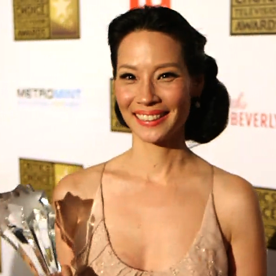 Lucy Liu Video Interview Critics Choice Television Awards