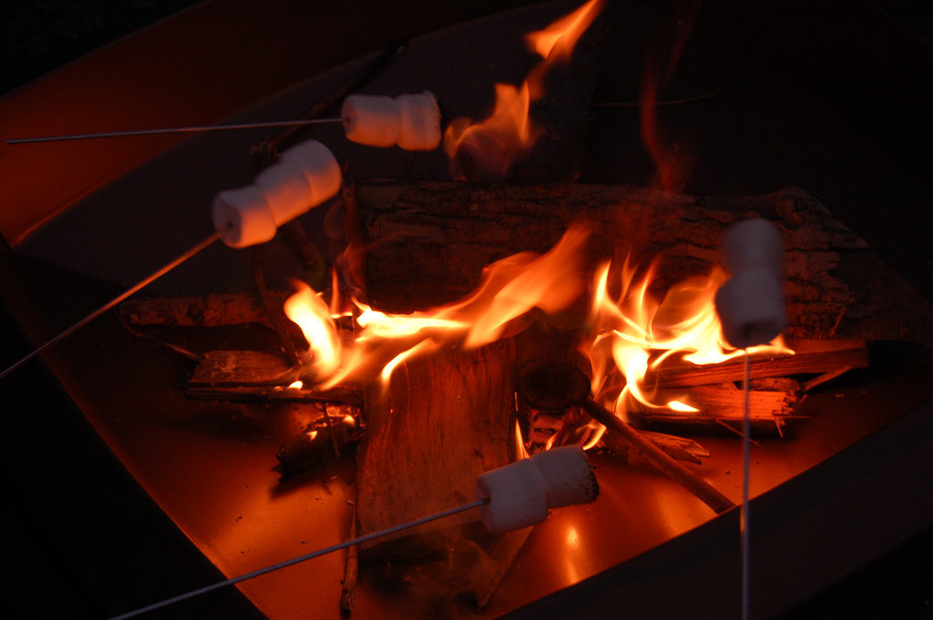 Make Indoor S'mores