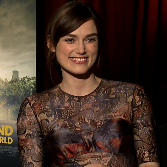 Steve Carell and Keira Knightley Interview (Video)