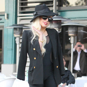 Lady Gaga Pictures Having Lunch in Sydney
