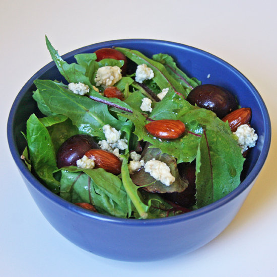 Cherry, Blue Cheese, and Almond Salad