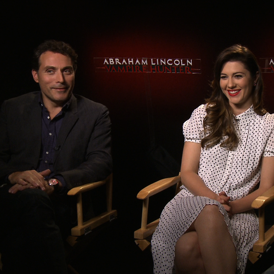 Rufus Sewell and Dominic Cooper Vampire Hunter Interview (Video)