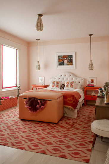 Pink Vintage Glam Little Girl's Room