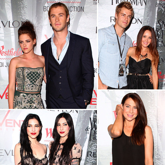 Aussie Stars Support Chris Hemsworth at His Big SWATH Sydney Premiere