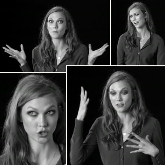 Watch Karlie Kloss' Super Duper Cute Screen Test for W Magazine and Try Not To Fall in Love With the All-American Model