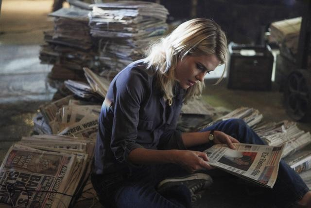 Rachael Taylor on 666 Park Avenue.