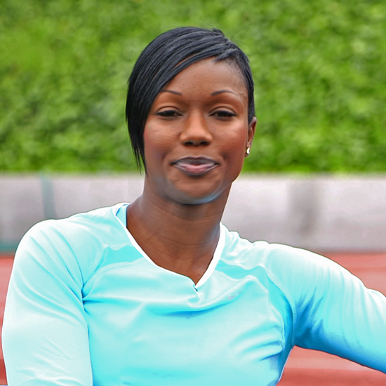 US Sprinter Carmelita Jeter on Training For the Olympics