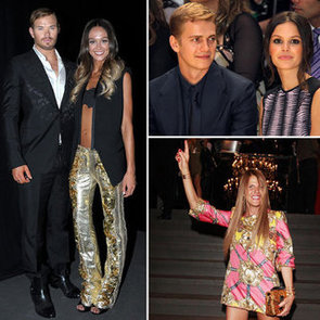 Celebrities Sitting Front Row at Menswear Spring Summer 2013 Fashion Week: Dolce & Gabbana, Versace, Burberry & More!