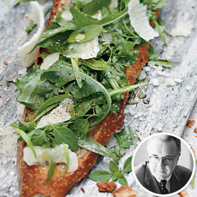 Celebrity Chef Alain Ducasse's Herb Tartines