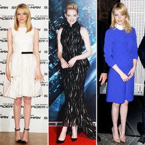 See Emma Stone's Spider-Man Press Tour Wardrobe: See Her Latest Jason Wu, Bottega Veneta & Carven Looks in Rome + NYC