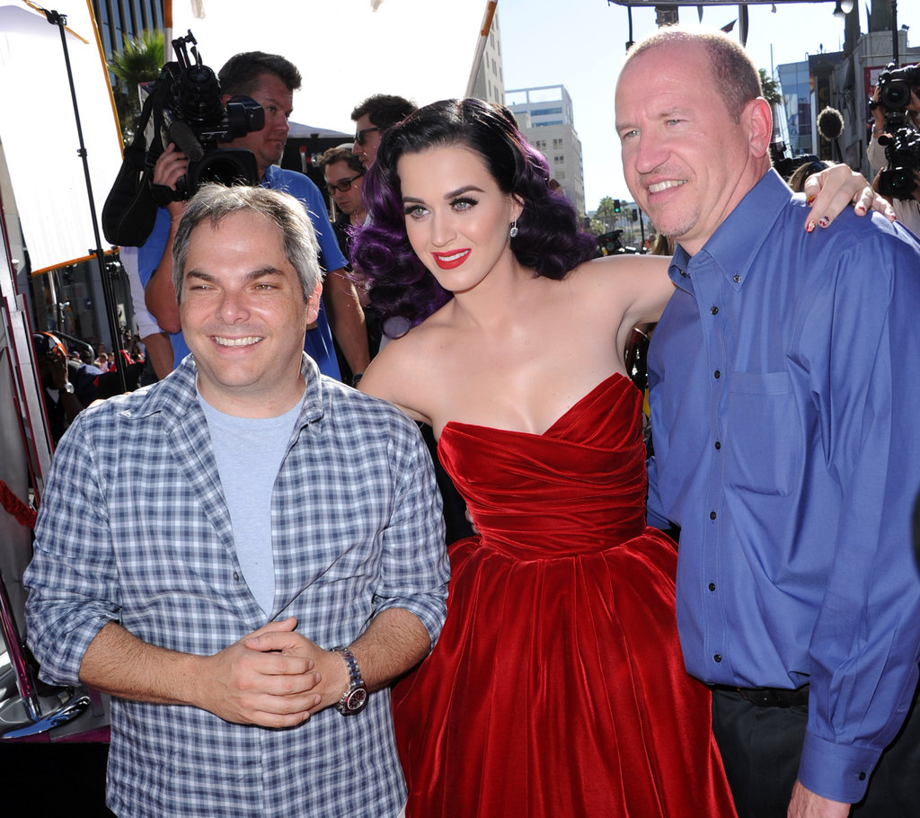 Adam Goodman, Katy Perry and Rob Moore