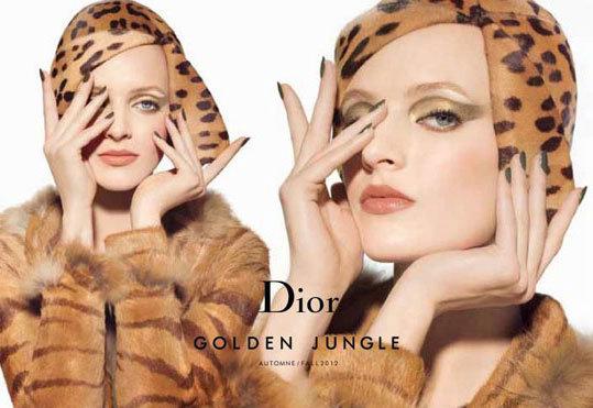 Jungle Fever: Carine Roitfeld Works Her Magic For Dior