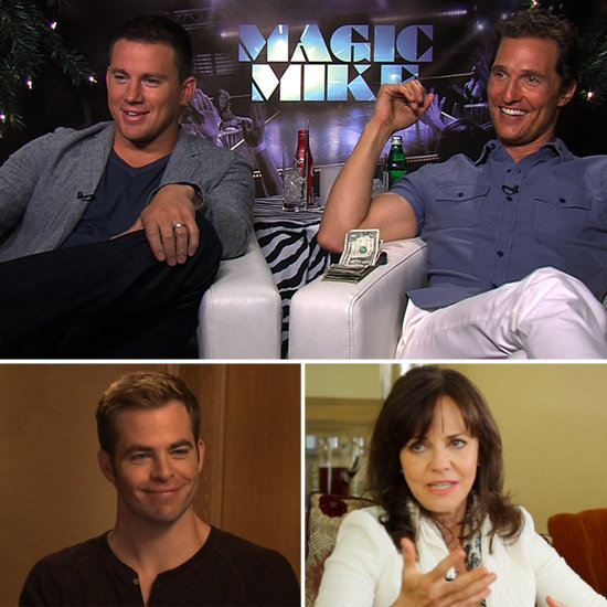 Channing Tatum, Chris Pine, and More: Watch This Week's Celebrity Interviews