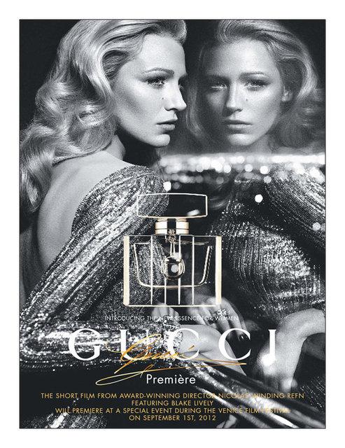 Sneak Peek: Blake Lively for Gucci Premiere Fragrance Campaign