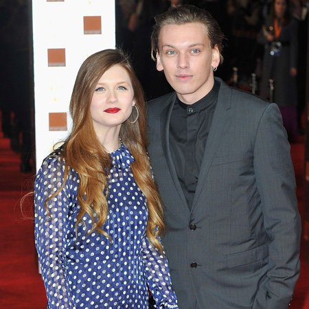 Bonnie Wright and Jamie Campbell-Bower Split