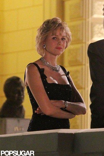 Naomi Watts channeled Princess Diana.