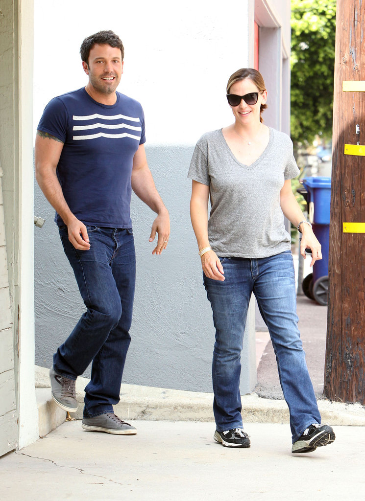 Ben Affleck and Jennifer Garner Get Smiley Before the Fourth