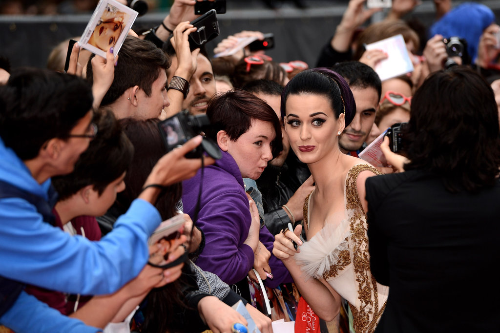 Katy Perry Shows London Some Love at Her Part of Me Premiere