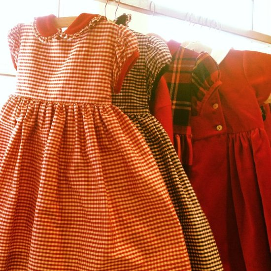 Oscar de la Renta Childrenswear Fall/Holiday 2012