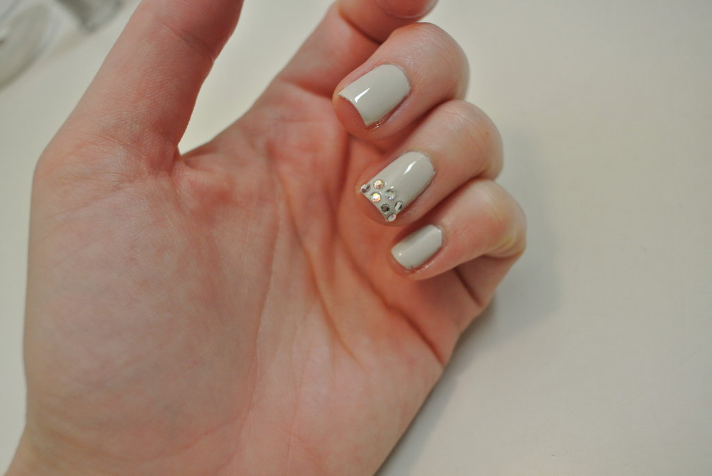 One finished feature nail!