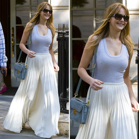We're loving Jennifer Lawrence's easy, breezy style formula.