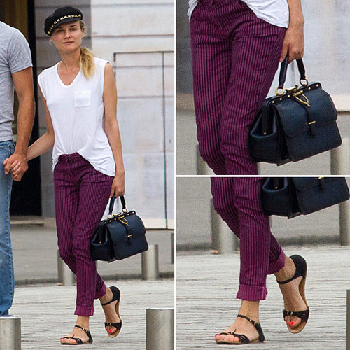 Diane Kruger Makes Us Want (to Dress For) a Parisian Vacation