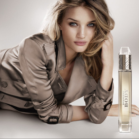 Rosie Huntington-Whiteley Burberry Body Fragrance Campaign