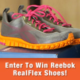 Enter to Win a Pair of Reebok RealFlex Transition Training Shoes!