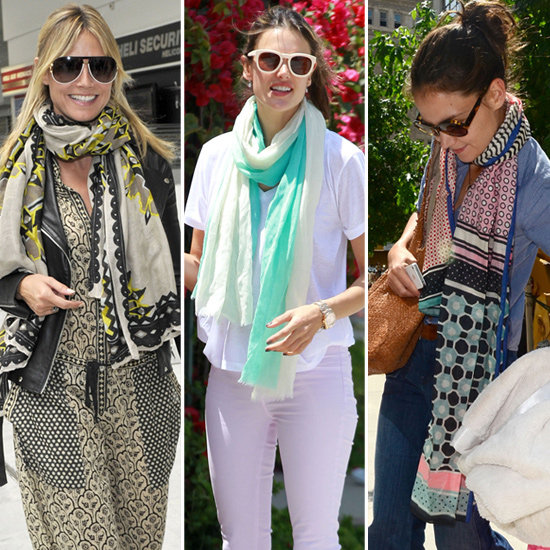 how to wear scarves in the summer pictures