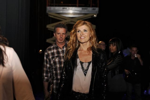 Connie Britton on Nashville.