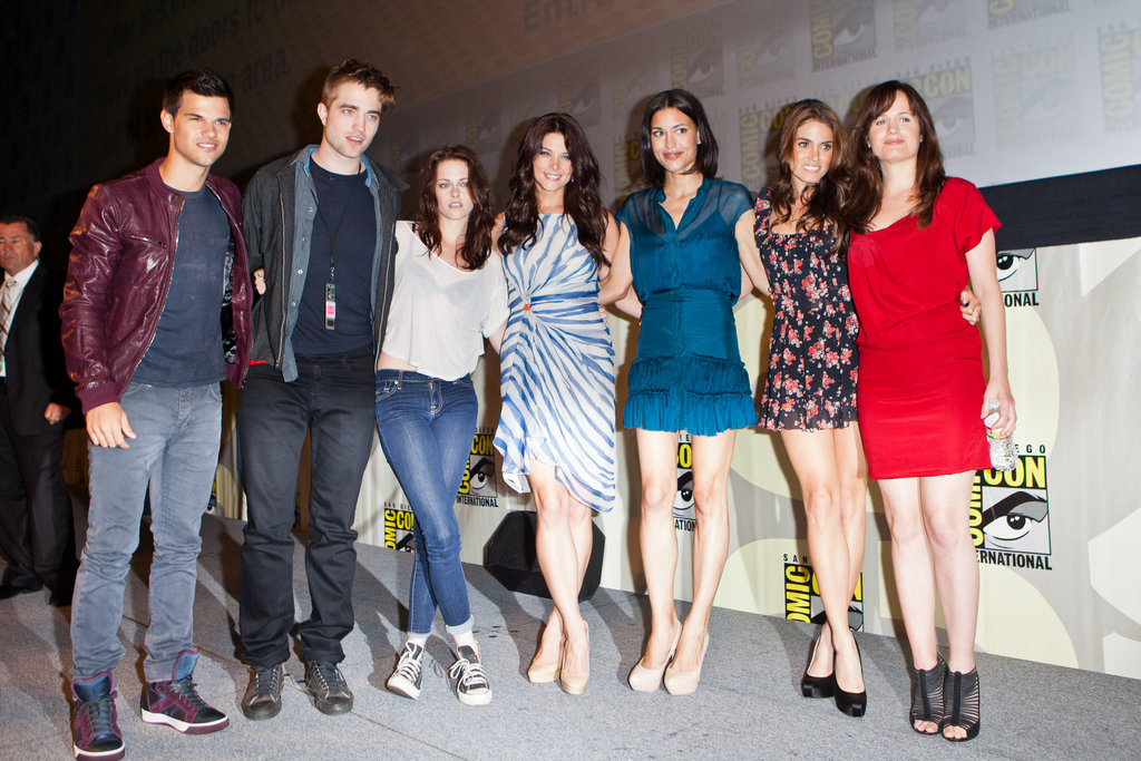 The cast got together for a photo in 2011.