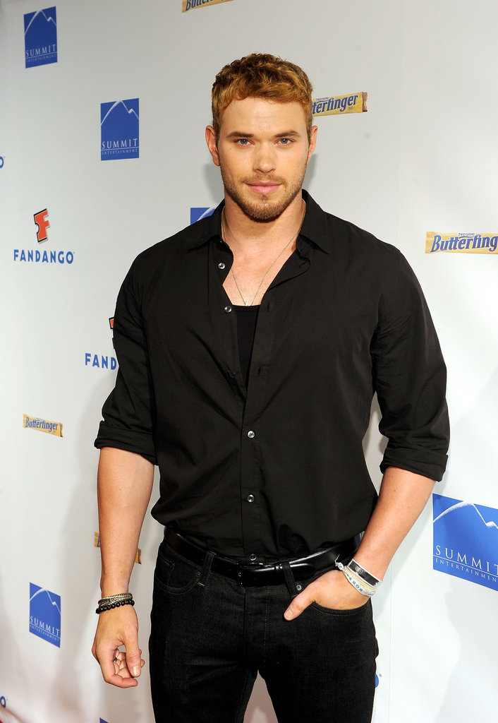 Kellan Lutz looked handsome in 2011 while promoting Breaking Dawn Part 1.